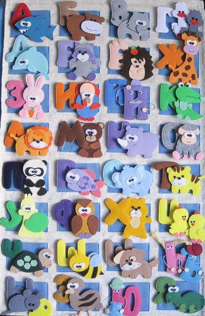 تعليم الأطفال الحروف الهجائية