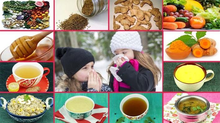 أطعمة يجب تناولها عند الإصابة بنزلات البرد