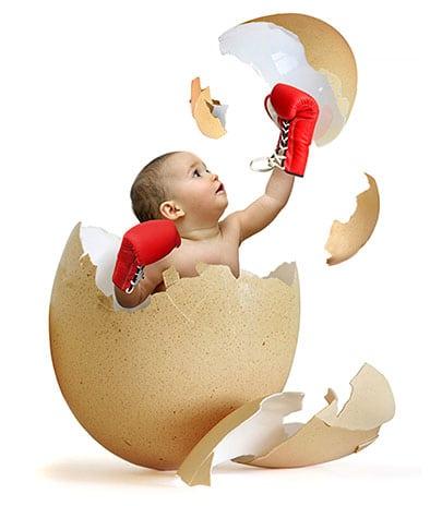 أهمية البيض للأطفال