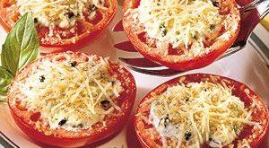 الطماطم المشوية المتبلة