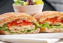 Photo of ساندويتشات شرائح الدجاج مع الخضروات