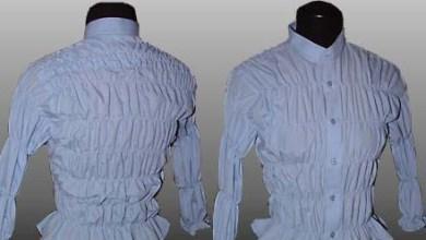 Photo of فكرة لتحويل قمص رجالى إلى بلوزة حريمى