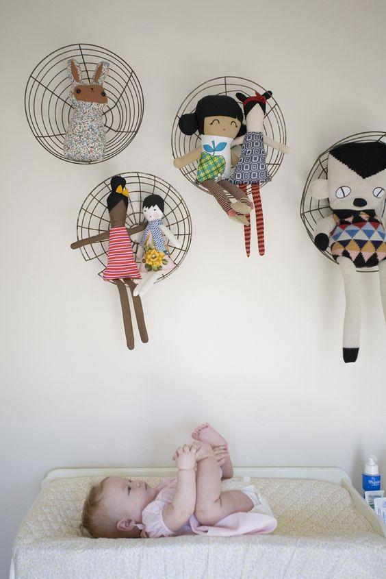 تحويل المروحه القديمه إلى ديكور فى غرفه أطفالك