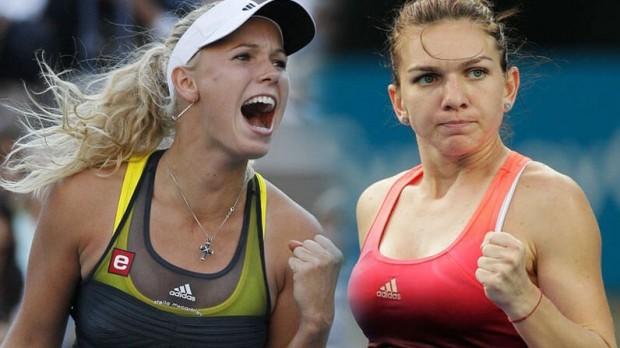 Finala Australian Open WTA - Simona Halep - Caroline Wozniacki