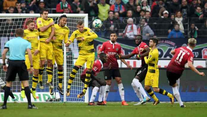 Ponturi fotbal Dortmund - Hannover Bundesliga