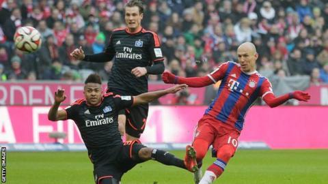 Ponturi fotbal Bayern Munchen - Hamburger Bundesliga