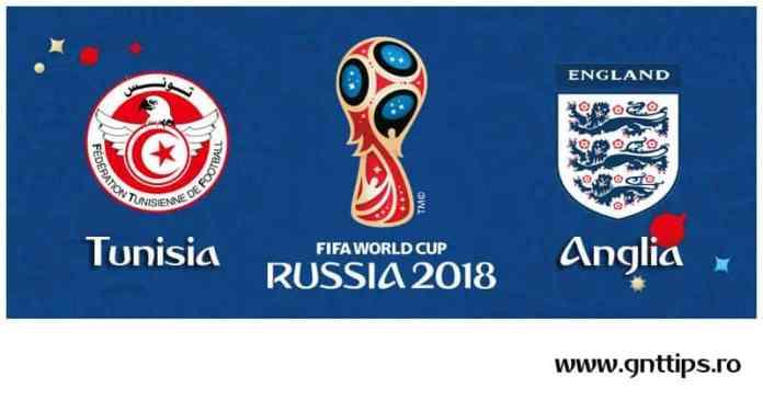 Ponturi fotbal - Tunisia - Anglia - Campionatul Mondial - Grupa G - 18.06.2018