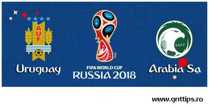 Ponturi fotbal - Uruguay - Arabia Saudita - Campionatul Mondial - Grupa A - 20.06.2018