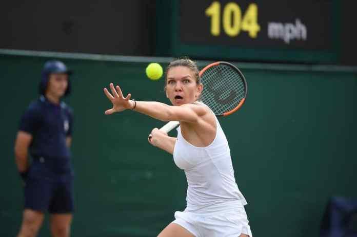 Simona Halep castiga la Wimbledon