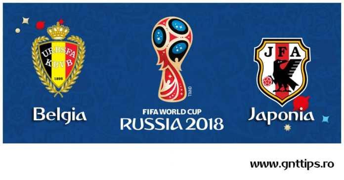 Ponturi fotbal - Belgia - Japonia - Campionatul Mondial - Optimi - 02.07.2018