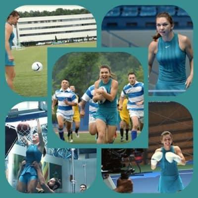 Imaginile cu Simona Halep incercand alte sporturi au devenit virale