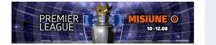 Pariaza pe runda inaugurala din Premier League cu 50% ramburs