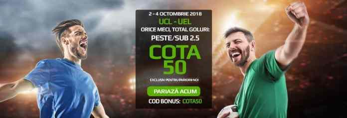 Meciurile din UCL si EL (2-4 octombrie)