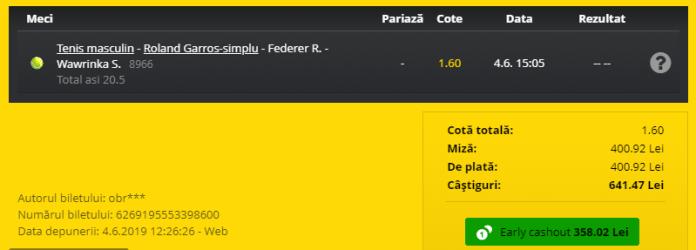 Wawrinka - Federer