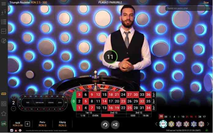Promotii Live Casino 15 iunie