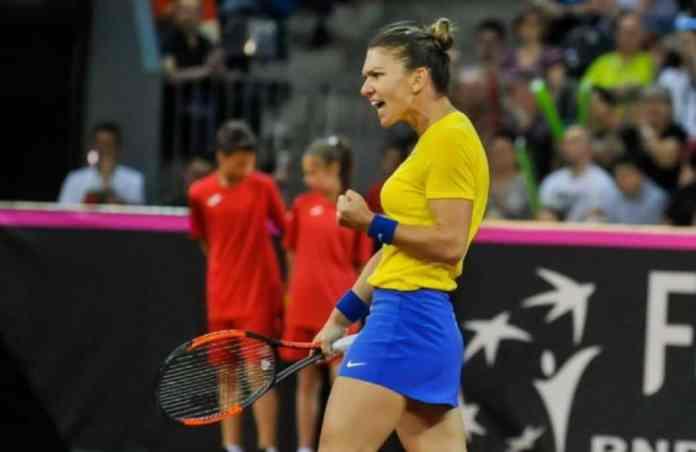 Simona Halep nu va juca pentru Romania in Fed Cup