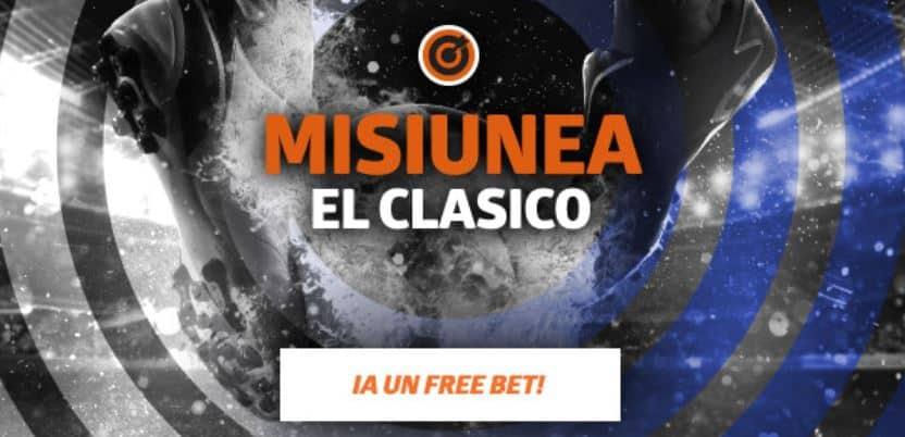 Freebet 50 RON pentru El Clasico 1 martie 2020