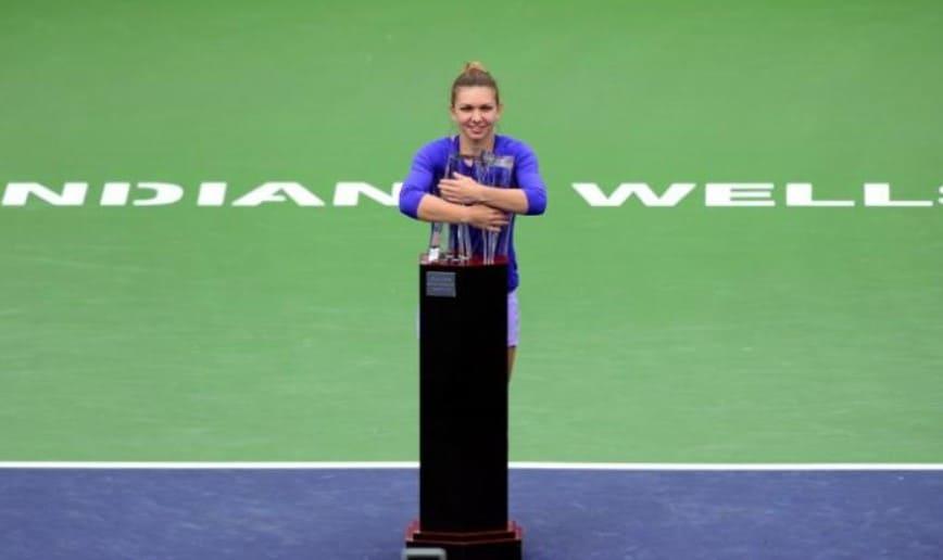 In 2015 a castigat Simona Halep la Indian Wells singurul ei trofeu