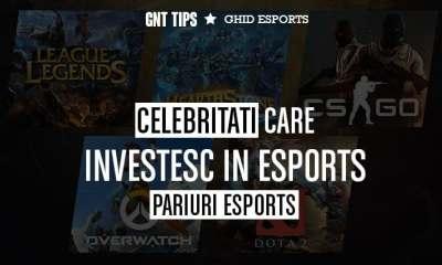 Celebritati care investesc in eSports