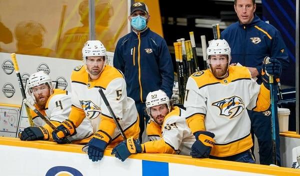 Play-ofof: Nashville Predators vs Arizona Coyotes
