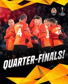 Europa League 2020: Shakhtar Donetsk