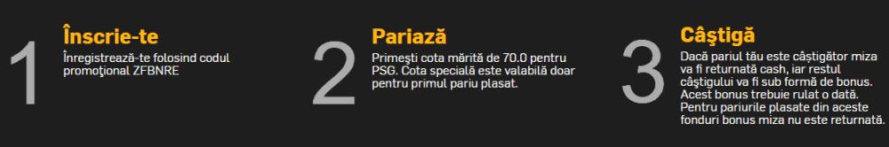 Cota 70.00 pentru PSG
