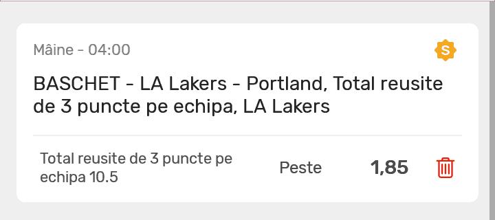 Ponturi NBA Superbet