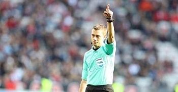 Arbitrii baraj EURO 2020: Clement Turpin
