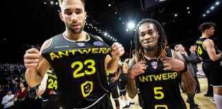 Antwerp Giants players