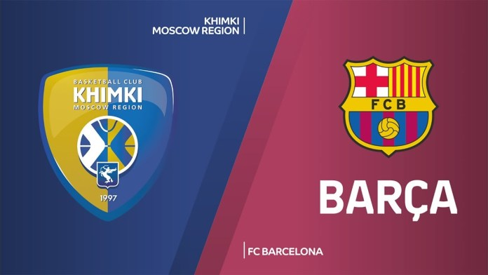 Khimki Barca Euroleague