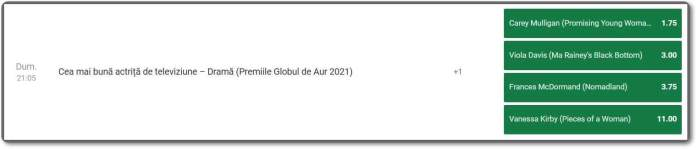 FavoriÈ›i Globurile de Aur 2021
