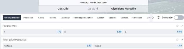 oferta betano - lille vs marseille