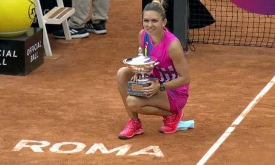 Simona Halep incearca sa-si pastreze trofeul la Forro Italico