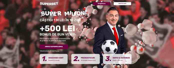 Super Milion Superbet: răspunde la 10 întrebări despre EURO pentru 1.000.000 RON