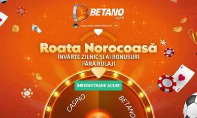 Roata Norocoasa a revenit la Betano