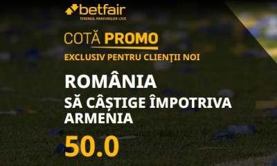 Cota speciala pentru Romania