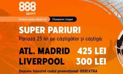 Cote marite Atletico Madrid vs Liverpool