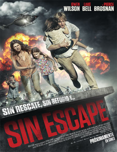 Poster de No Escape (Golpe de estado)