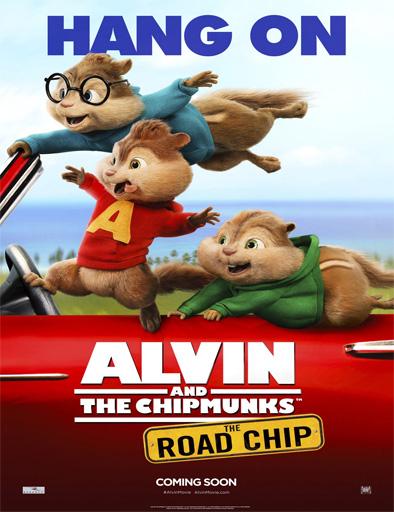 Poster de Alvin y las ardillas 4: Aventura sobre ruedas