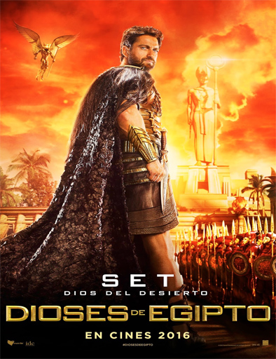 Poster de Gods of Egypt (Dioses de Egipto)