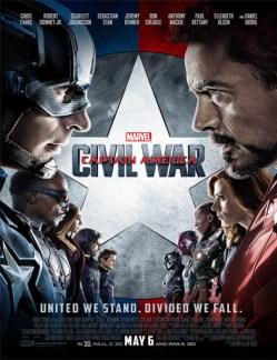 Poster de Capitán América: Civil War