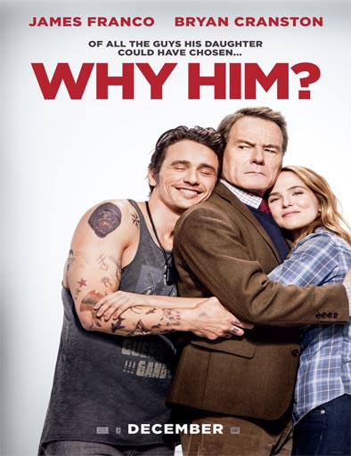 Poster de Why Him? (¿Por qué él?)