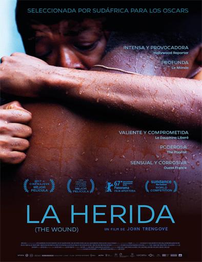 Poster de Inxeba (La herida)