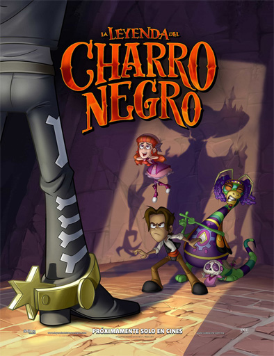 Poster de La Leyenda del Charro Negro
