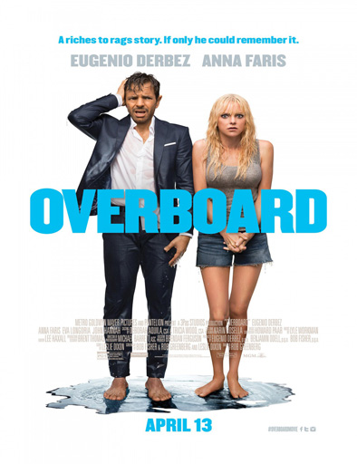 Poster de Overboard (Amor a la deriva)