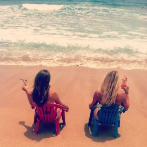 Maura and I in Kenting