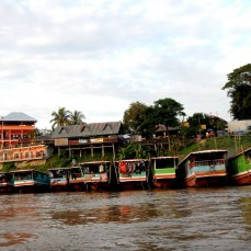 Laos riverboat