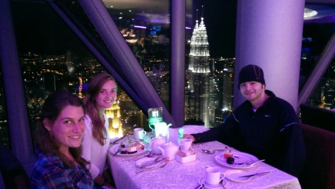 Atmosphere 360 at the top of Kuala Lumpur Tower