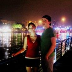 James and I at Love River