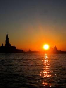 A Venetian sunset
